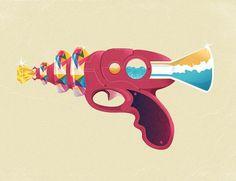 Raygun52 - The Armory #gemerald #raygun #blaster #zac #52 #neulieb