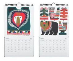 Miss Moss 2015 Calendar Picks