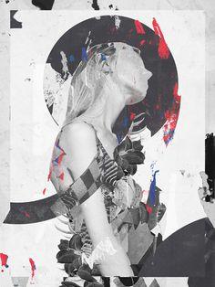 Raphael Vicenzi, collage, fashion, design