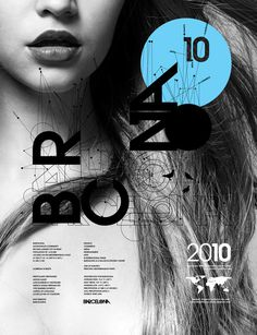 Barcelona Showusyourtype Exhibit 2010 by Anthony Neildart #design #graphic #poster #barcelona