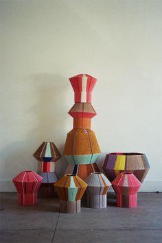 Bonbon lamps by Ana Kraš