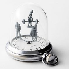 Watch sculptures Moments in Time by Dominic Wilcox_14 451x451 #watch