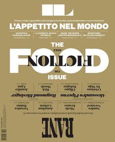 Francesco Franchi – IL magazine #typography