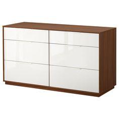 NYVOLL Komoda su 6 stalčiais - IKEA #furniture #industrial #ikea