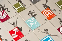 Mobel Sport Catalogs on Behance #color #graphic #simple #minimal #blackandwhite