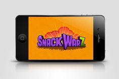eduardorh » SNACKWARZ #logo #app #iphone