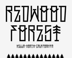 Redwood Regular #type #font #clean