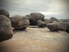 roccia acqua neve #rock #boulders