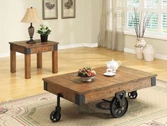 Coaster Country Style Coffee Table #tech #flow #gadget #gift #ideas #cool
