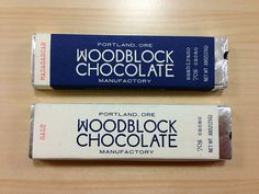 Woodblock Chocolate Handmade in Portland