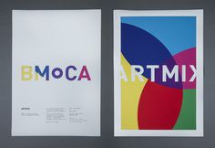 Boulder Museum of Contemporary Art — Berger & Föhr — Graphic Design & Art Direction #print #poster
