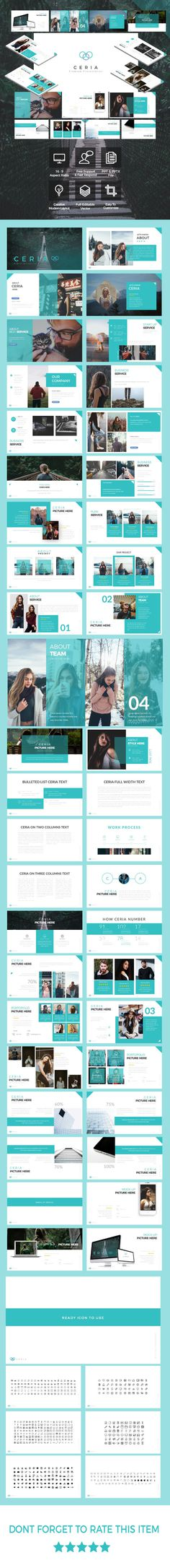 CERIA Multipurpose Powerpoint Template - Business PowerPoint Templates