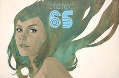supersonic electronic / art #phil #stereo #65 #women #noto #illustraion