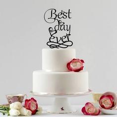 text-wedding-cakes-topper