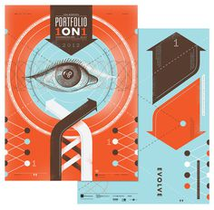 AIGA Portfolio 1ON1 DaviesGarage #poster #graphic #portfolio