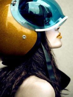 Sara Lindholm #helmet #female