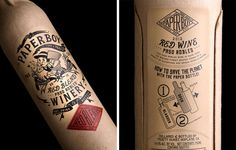 Stranger and stranger via www.mr-cup.com #bottle #packaging #print #illustration #type #typography