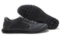 Nike Free 4.0 V3 Anthracite Black-Mens #shoes