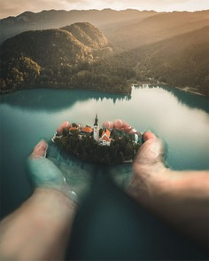 I got the whole island in my hands . (drone shot of Bled by @10.larisa , edited by me) . . . #enter_imagination #launchdsigns #creativemobs #xceptionaledits #digitalart #depthobsessed #theuniversalart #art_spotlight #creativitychasers #droneart #thegraphicspr0ject #visualgrams #manipulationteam #electric_shotz #creativemobs #globe_visuals #visualscollective #gallery_legit #edit_grams #djicreator #dronegram #creative_ace #learn_photoshop by @sibmount