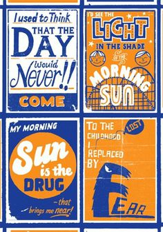 FFFFOUND! | StolenSpace Gallery #design #graphic #poster #art #show #blue