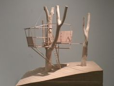 The Final Study Model #volume #house #tree