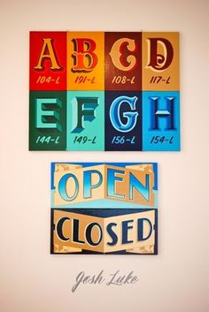 All sizes | Josh Luke | Flickr - Photo Sharing! #sign #type #painting #typography