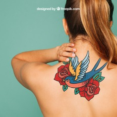 Woman mockup for tattoo art on back Free Psd. See more inspiration related to Mockup, Hand, Template, Woman, Girl, Stamp, Paint, Hand drawn, Art, Tattoo, 3d, Mock up, Ink, Drawing, Body, Emblem, Symbol, Psd, Skin, Culture, Craft, Urban, Female, Back, Mockups, Up, Drawn, Artistic, Sketchy, Sketches, Mock, 3d mockup and Psd mockup on Freepik.