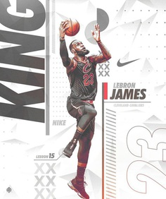 Nike Poster (Spoof) | Lebron 15