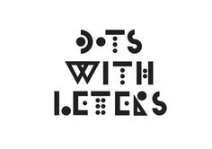 Nice On White #lettering #design #dots #illustration #type #typography