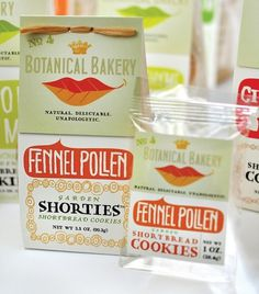 Botanical Bakery Brand Makeover and Package Design