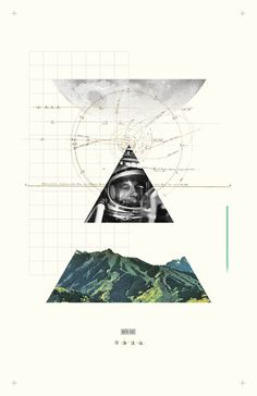 #poster #collage #design #minimal #thomasadcock #theletterthomas #layout #grid #astrological #exploration