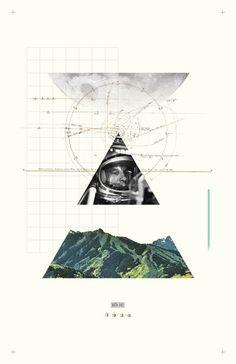 #poster #collage #design #minimal #thomasadcock #theletterthomas #layout #grid #astrological #exploration