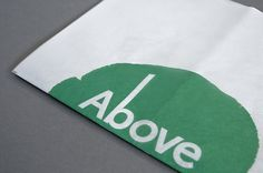 Above & Below on the Behance Network #branding #museum #print #design #graphic #of #identity #logo #trees