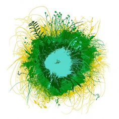 CHRIS KEEGAN #chris #grass #round #world #illustration #nature #keegan