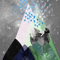 """RAIN"" © ceren kilic 2012 #kilic #ceren #print #illustration #vintage #art #po"
