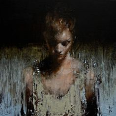 Mark Demsteader #portrait #painting
