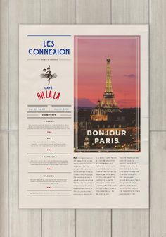 Cafe Oh La La #menu