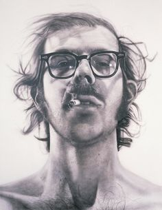 Big Self Portrait 1967-1968 Chuck Close
