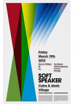 Soft Speaker poster. « LABlog #modularlab #soft #poster #speaker