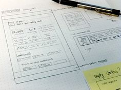 Email-sketch #wireframe #scribble