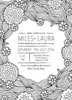 Colour Me - Wedding Invitations #paperlust #wedding #invitation #weddinginvitation #weddinginspiration #design #paper