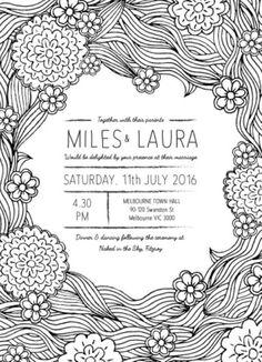 Colour Me - Wedding Invitations #paperlust #wedding #invitation #weddinginvitation #weddinginspiration #design #paper