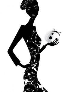 Fashion Illustrations by Eli Maier & Alexandra Zaharova | Cuded #fashion #illustrations