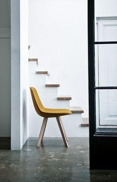 The Eyes Wood chair / Johannes Foersom & Peter Hiort-Lorenzen for Erik Jorgensen.