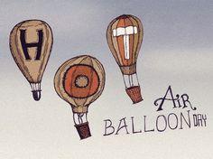 Dribbble - 1024x768_Balloon_Day.jpg by Dustin Addair #holidays #addair #air #of #hot #balloon #dustin #june #day