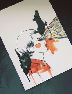 T.E.E.D. on Behance #fashion #illustration #watercolor #poster