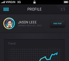 Big #profile #graph #black #ui