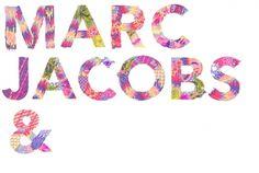 Marc Jacobs Loves You : Kristal Raelene Melson #marc #jacobs #illustration #melson #kristal #typography