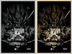 Martin Ansin. Illustrations by Martin Ansin... - Supersonic Art #alien #graphic #illustrated #poster