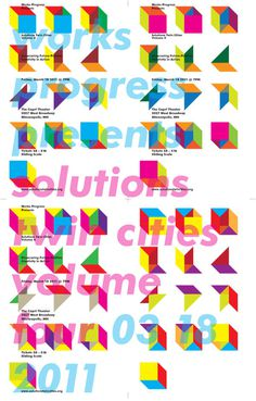 Erik Brandt / Typografika (Minneapolis, USA) #poster